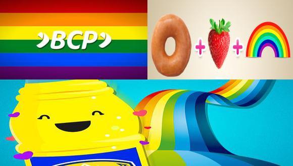 BCP, Inca Kola y Dunkin Donuts son algunas de las marcas que se mostraron a favor del matrimonio homosexual. (Twitter)