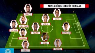 Selección peruana: Mira la alineación blanquiroja que chocará ante Argentina