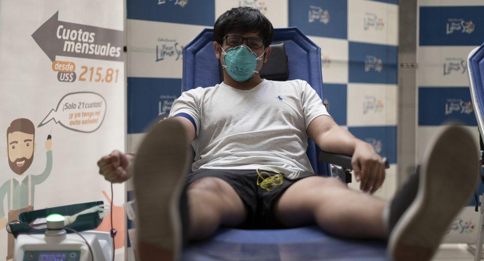 Ronald Vizcardo estudió medicina y es donante de sangre. (Foto: Renzo Salazar/ GEC)