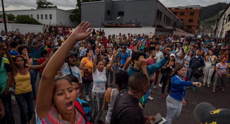 La crisis de alimentaria en Venezuela continúa y ocasionan saqueos en varios mercados del país (Efe).