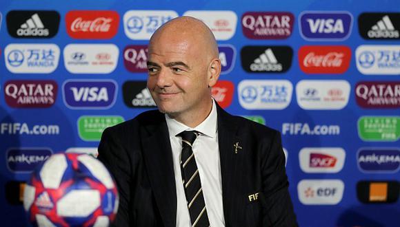 FIFA: Infantino confirmó que analizan la posibilidad de un Mundial cada dos años. (Foto: Getty)