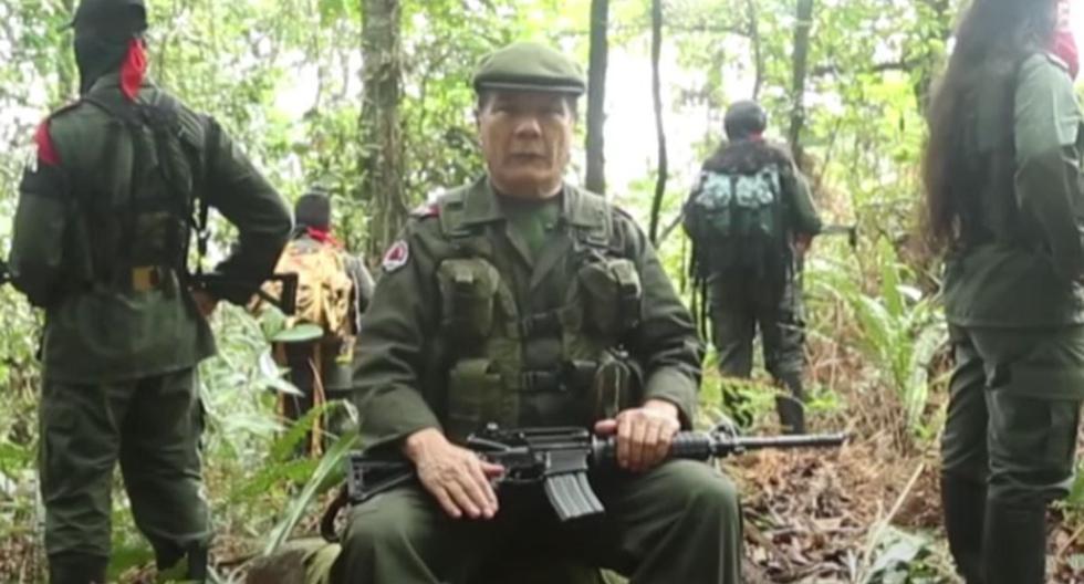 """Renuncia máximo comandante de la guerrilla del Ejército de Liberación Nacional (ELN), Nicolás Rodríguez Bautista, alias """"Gabino"""". (Captura/YouTube)."""