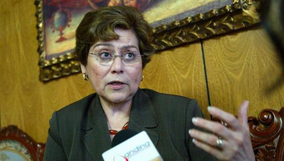 Exfiscal de la Nación asegura que no se siguió el debido proceso para acusarla en caso BTR. (Andina)