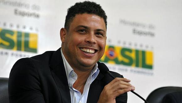 Ronaldo Nazario presentará el trofeo de la Copa Confederaciones en la final entre Chile y Alemania (AFP)