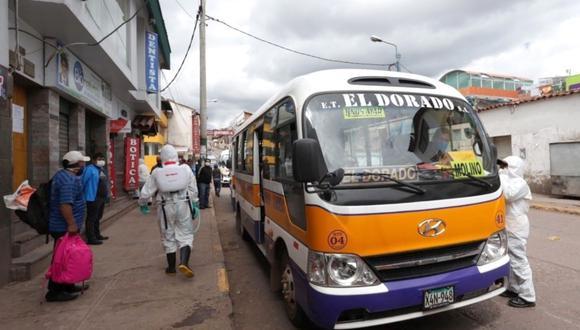 Coronavirus en Perú: 26 municipalidades coordinan para recibir subsidio de transporte urbano (Foto referencial).