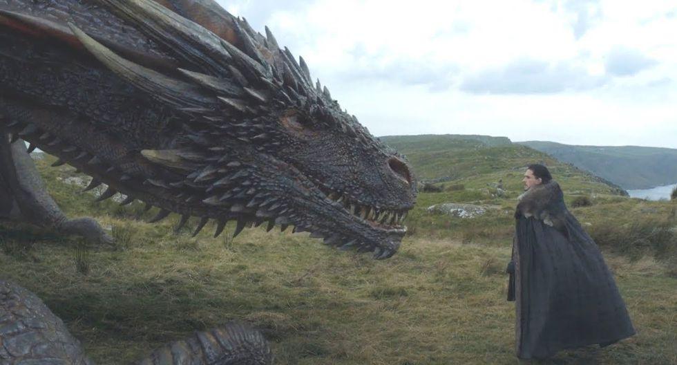 Jon Snow acaba de mostrar al mundo tener verdadera sangre Targaryen en sus venas. (Foto: HBO)