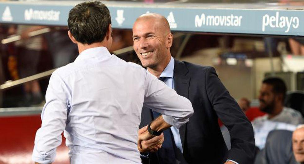 La defensa de Zidane a Valverde tras las críticas por eliminación de Barcelona en Champions League. (Foto: AFP)