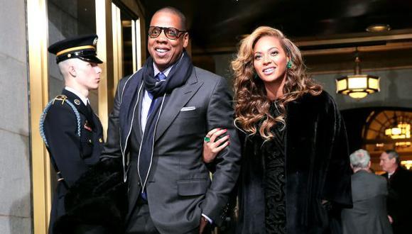 Jay-Z y Beyoncé encabezan la millonaria lista. (Internet)