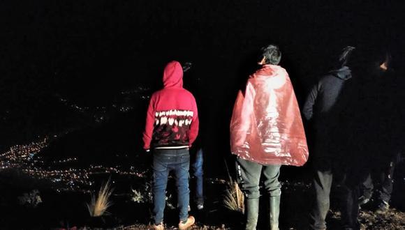 Junín: Hasta el lugar del siniestro llegaron agentes de la Policía Nacional para las diligencias respectivas. (Foto: Difusión)