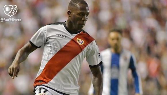 Luis Advíncula fue cedido a préstamo a Rayo Vallecano por una temporada. (Foto: Rayo Vallecano)