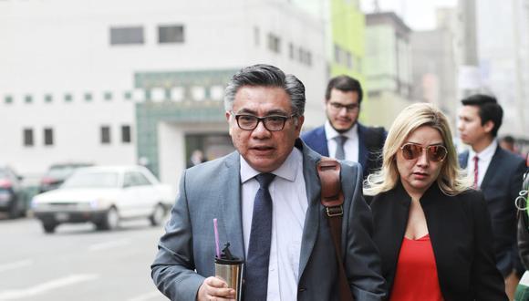 Nakazaki insistió en que PPK no realizó actividad política y dijo que la fiscalía no pudo probarlo ante la sala. (Foto: Juan Ponce/GEC)