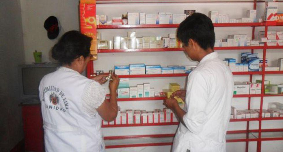 Control adicional a fármacos. (Difusión)