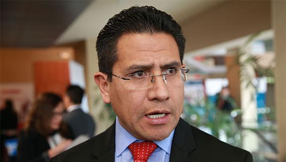 """Amado Enco detalló que Chávarry """"habría incurrido en corrupción de funcionarios y delito contra la administración de justicia, en la modalidad de encubrimiento real"""". (Foto: Agencia Andina)"""