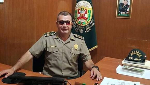 Comandante Flavio Vásquez fue detenido por presuntos actos de corrupción.