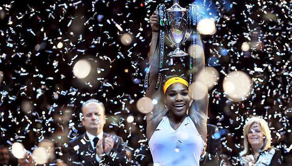 Serena Williams se llevó el Masters. (AFP)