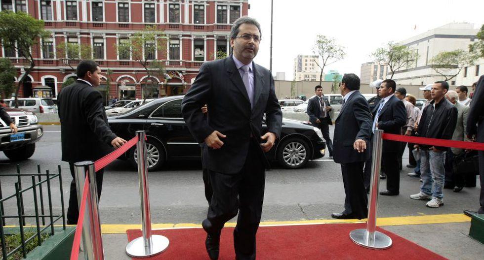 También se hizo presente el presidente del Consejo de Ministros, Juan Jiménez. (David Vexelman)