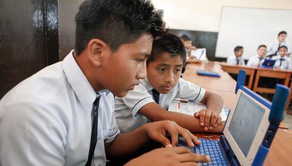 El MTC se propuso beneficiar a más de 4,000 colegios con internet con los más de US$ 1189.3 millonesrecaudados desde 2011 por licitaciones de bandas de frecuencia. (Foto: MTC)