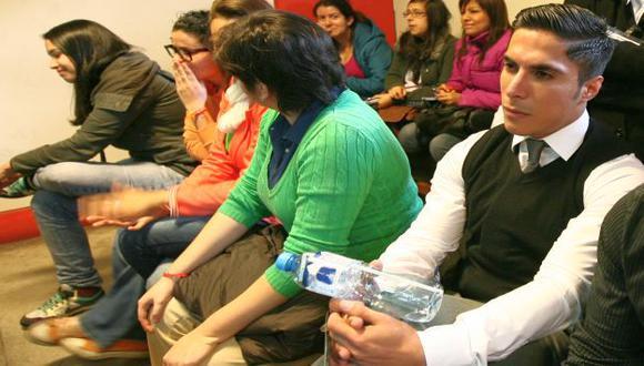 Ariel durante una de las audiencias del proceso. (USI)