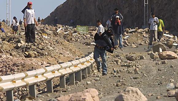 OPOSICIÓN. Pobladores temen que minería contamine el agua. (USI)