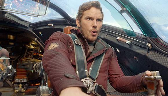 'Guardianes de la galaxia' destronó a 'Capitán América'. (AP)