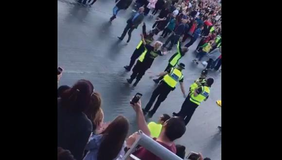 One Love Manchester: Guardias de seguridad bailan al ritmo de 'Roar' de Katy Perry en concierto benéfico [VIDEO]