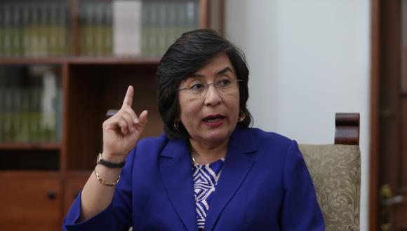 Decisión del ingreso de Marianella Ledesma a la Sala Primera del TC se dio durante la sesión del viernes 24. (Foto: Archivo de GEC)