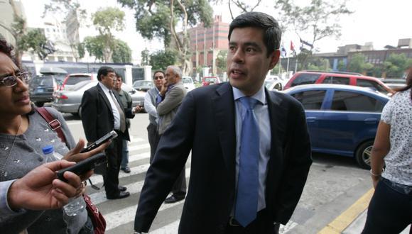 """Luis Galarreta: """"Pablo Secada debe dejar a un lado su precandidatura"""" (Martín Pauca)"""