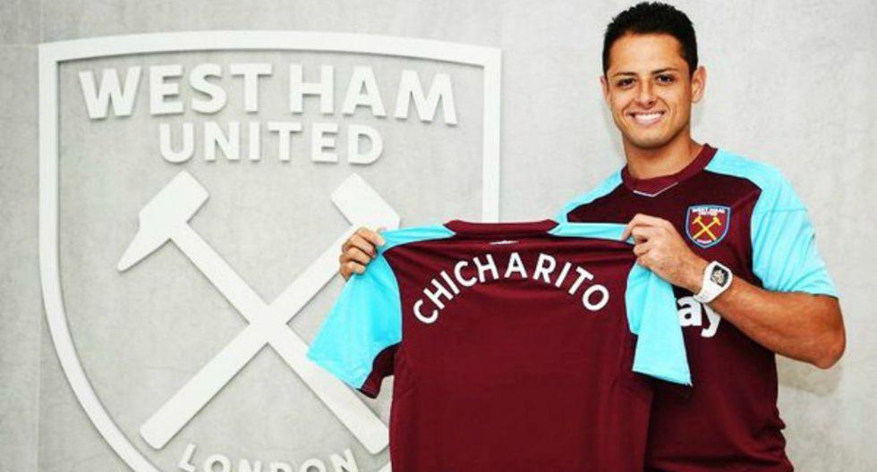 'Chicharito' Hernández jugará en el West Ham. (West Ham)