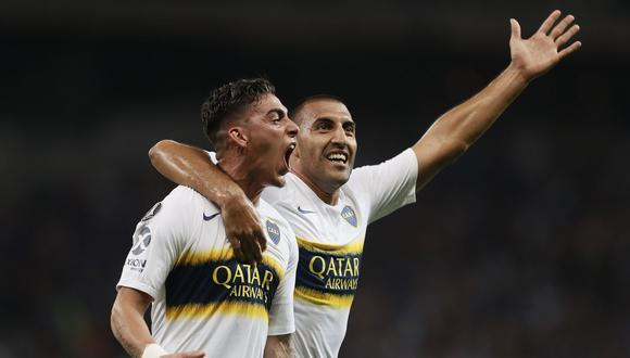 Boca Juniors igualó de visita 1-1 ante Cruzeiro en Brasil y se metió entre los 4 mejores de la Copa Libertadores. En el encuentro de ida, los xeneizes vencieron 2-0. (Foto: Boca Juniors)