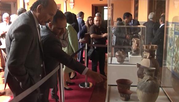 Ministerio de Cultura recupera piezas arqueológicas gracias al apoyo de Argentina y Estados Unidos. (Piura: Difusión)