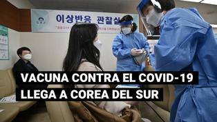 Inicia campaña de vacunación contra la COVID-19 en Corea del Sur