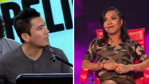 El cantante de cumbia y la actriz cómica mantienen una buen amistad.