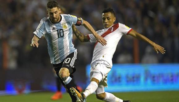 Perú vs. Argentina: chocan en el Estadio Nacional de Lima por las Eliminatorias Qatar 2022. (Foto: AFP)