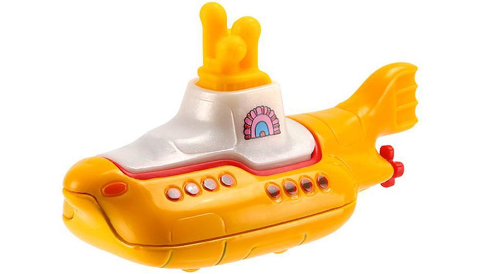 The Beatles: Hot Wheels lanzó su propio 'Submarino amarillo' por su 50 Aniversario. (ew.com)