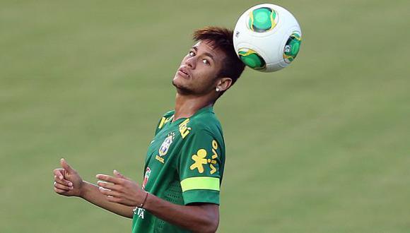Genio y figura.  Neymar espera brillar ante los italianos. El brasileño tiene dos goles en el torneo. (EFE)