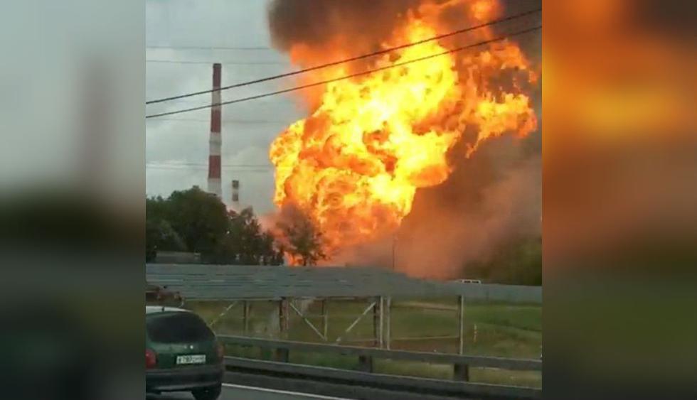 Rusia: Incendio en central eléctrica de Moscú deja un muerto y 13 heridos. (Foto: Reuters)
