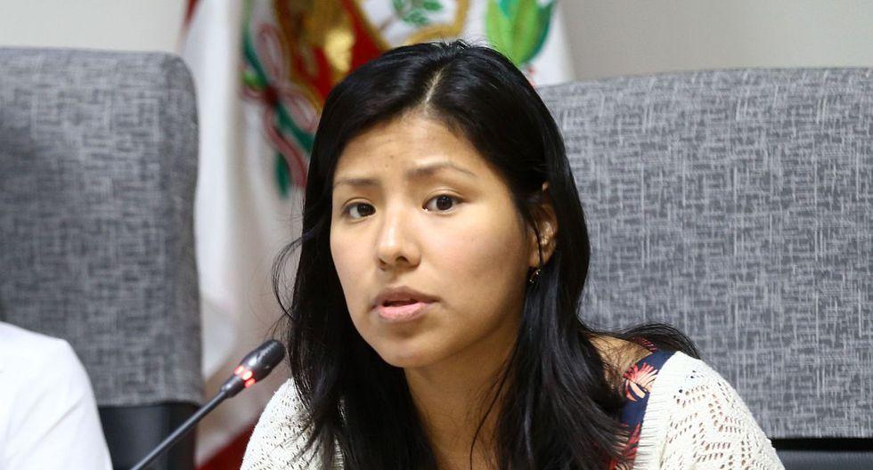 """Huilca explicó que con la ley aprobada se permitirá que """"personas que forman parte de partidos políticos"""" puedan postular para ser integrantes de la Junta Nacional de Justicia (JNJ). (Foto: Congreso / Video: Canal N)"""