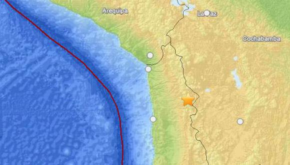 Movimiento telúrico se registró a unos 100 kilómetros de profundidad. (usgs.gov)