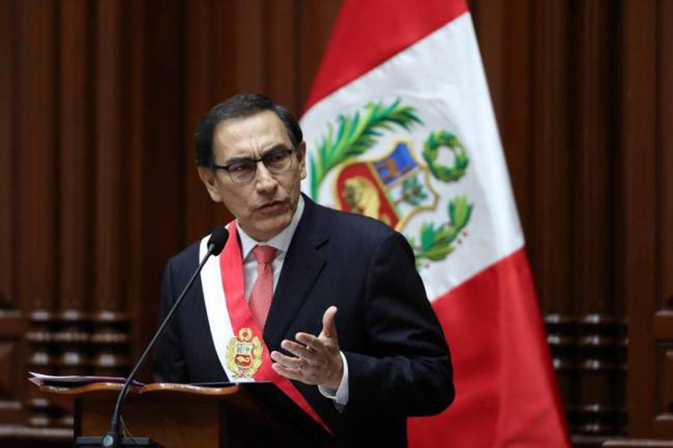 Martin Vizcarra resaltó los US$ 5,300 millones de inversión que representará para el país. (Foto: EFE)