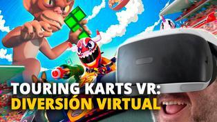 Touring Karts VR: Diversión virtual [VIDEO]