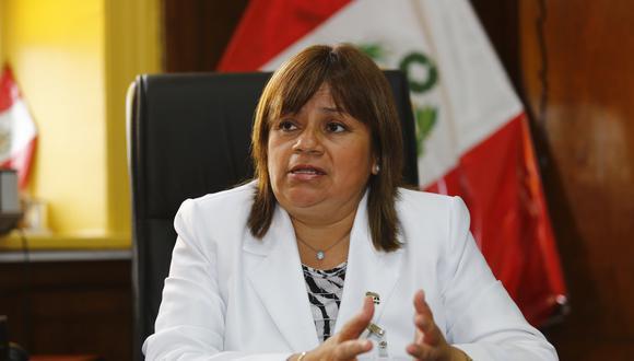 """La ministra Zulema Tomás consideró como un """"maltrato"""" que no se haya atendido de forma inmediata la denuncia del presunto intercambio de bebes. (Foto: GEC)"""