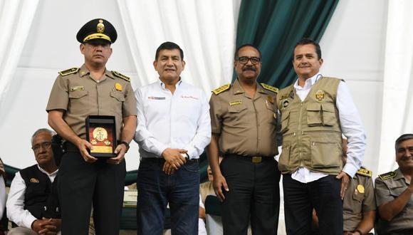 El ministro del Interior Carlos Morán expresó su respaldo al comandante general de la PNP, José Luis Lavalle (Mininter).
