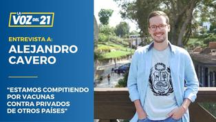 """Alejandro Cavero de Avanza País: """"Estamos compitiendo por vacunas contra privados de otros países"""""""