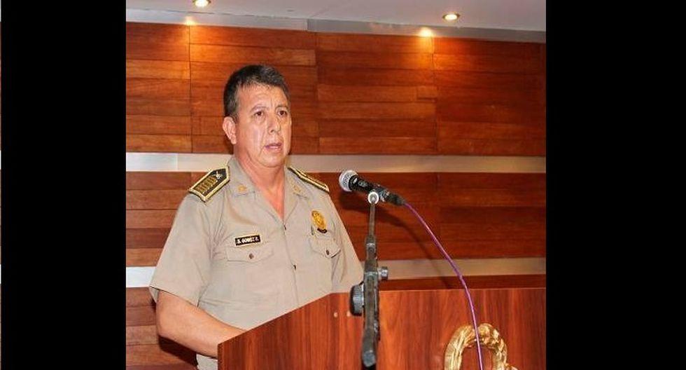 El coronel Segundo Gómez fue separado del cargo por este caso.