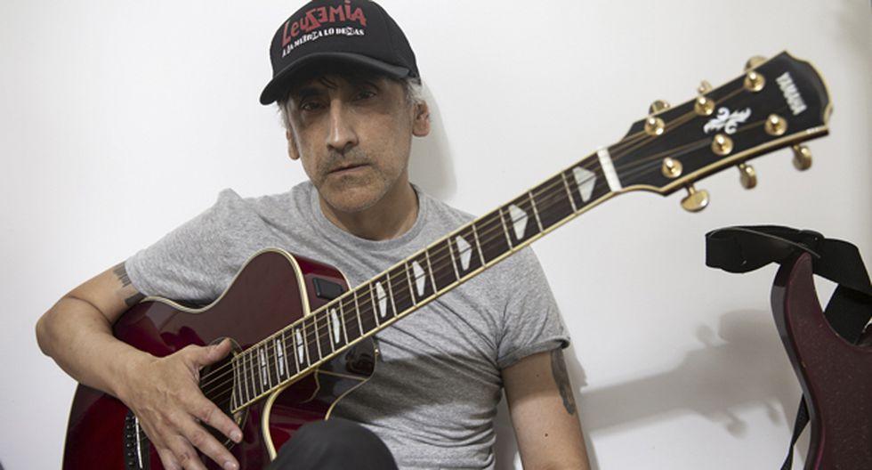 Han pasado más de 35 años desde el debut de Daniel F sobre un escenario. (Fotos: José Rojas).