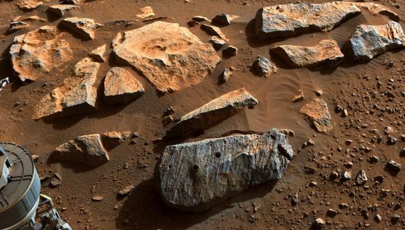 NASA informó que el planeta roja ha tenido varios movimientos telúricos. (Foto: Handout / various sources / AFP)
