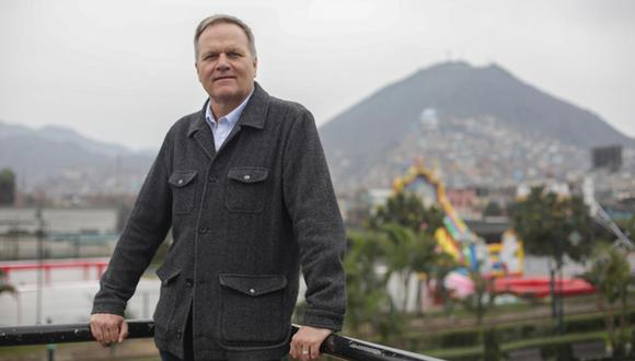 El historiador norteamericano Charles Walker llegó a Lima para la Feria del Libro. (Fotos: Marco Ramón)