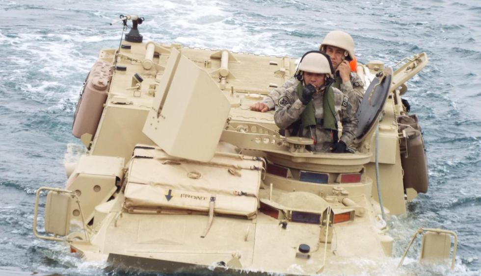 Marina de Guerra del Perú y armada de EE.UU. realizarán una exhibición en Chorrillos. (Marina de Guerra)
