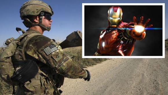 Quieren que soldados tengan una armadura avanzada, como la de Iron Man. (Reuters/USI)