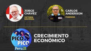 Jorge Chávez de Victoria Nacional VS Carlos Anderson de Podemos